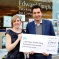 Laura Riddle, Charity Manager, and Edward Timpson MP