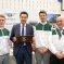 Edward Timpson MP with Bentley Motors apprentices
