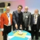 Philip Yeardley, Edward Timpson, Dave Jinkinson, and Mayor, Cllr Straine-Francis